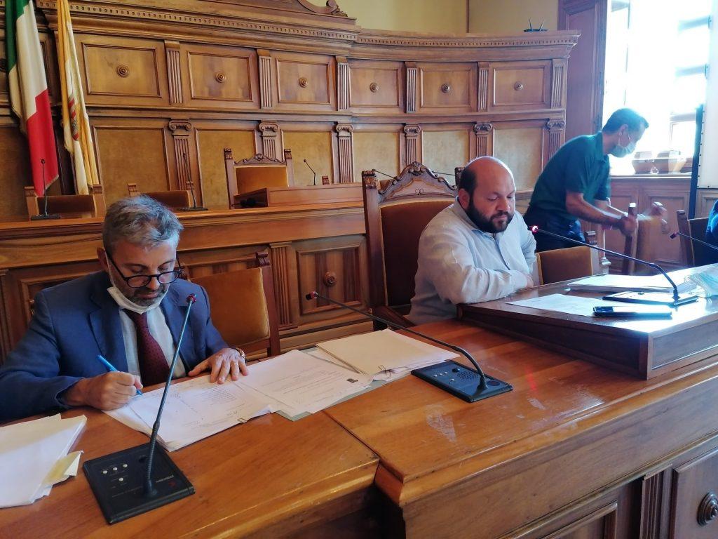 I lavori del Consiglio provinciale odierno: approvato il Bilancio di previsione 2020/2022. Nuovi ingressi dei consiglieri Filoni, Perrone e Patera
