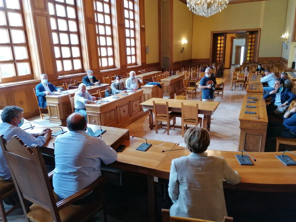 Crisi dell'edilizia: il presidente Minerva ha incontrato le associazioni datoriali e gli Ordini professionali
