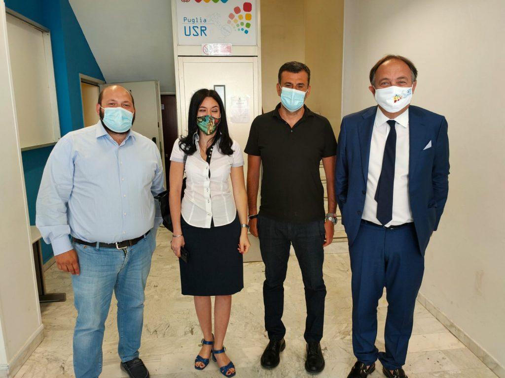 Il presidente Upi Puglia Minerva oggi alla riunione col ministro Azzolina a Bari  per portare la voce delle Province pugliesi