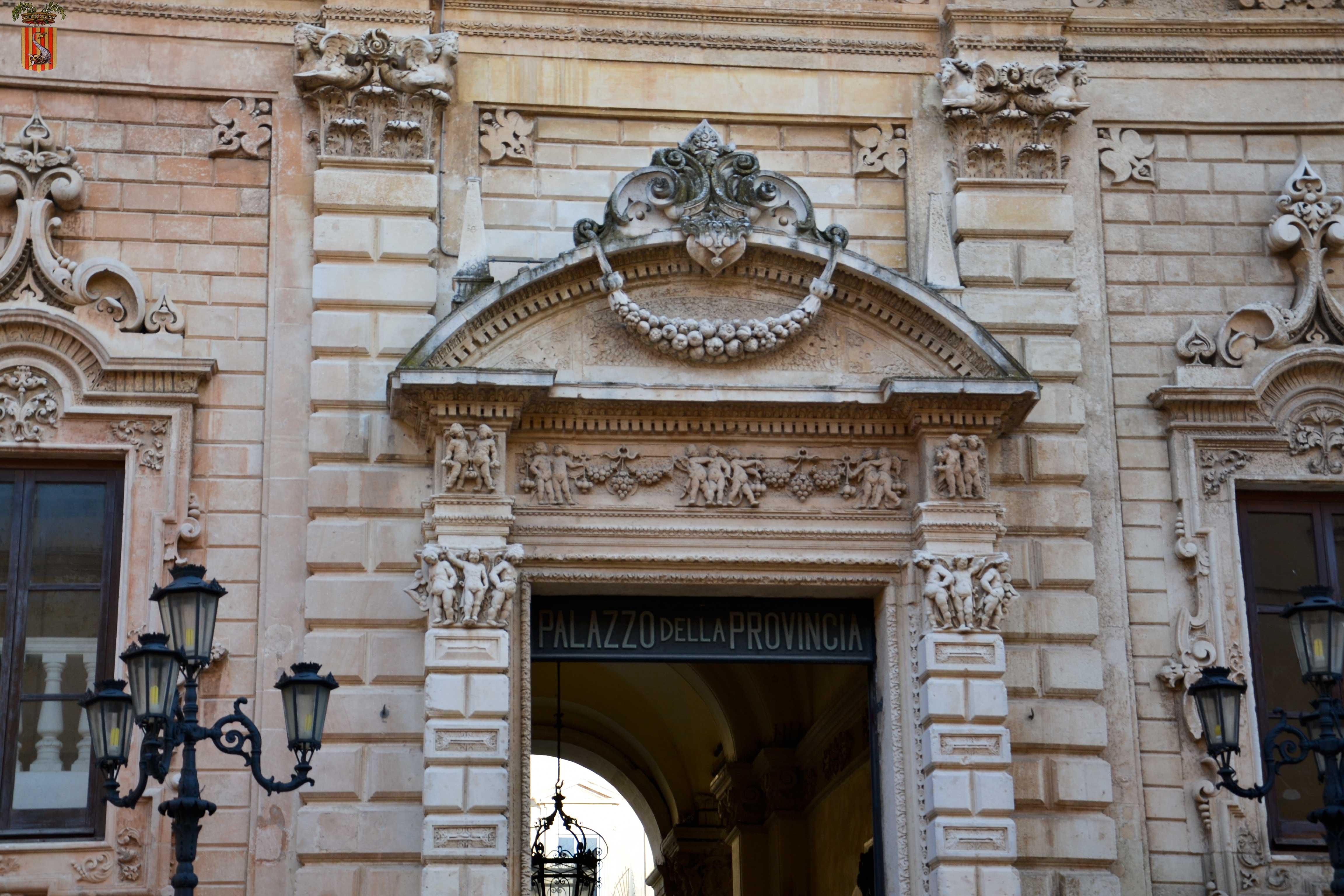 Palazzetto San Giuseppe Copertino nota Corsini