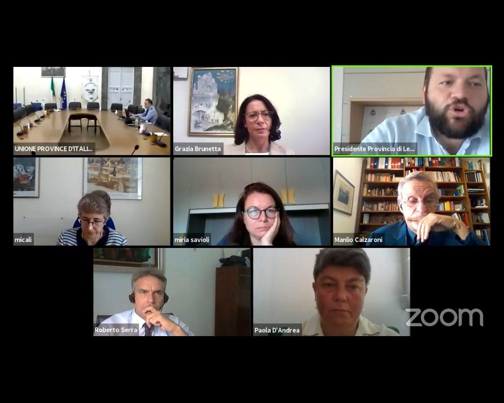 Sostenibilità e Benessere nelle Province: disponibili video atti e slide del convegno