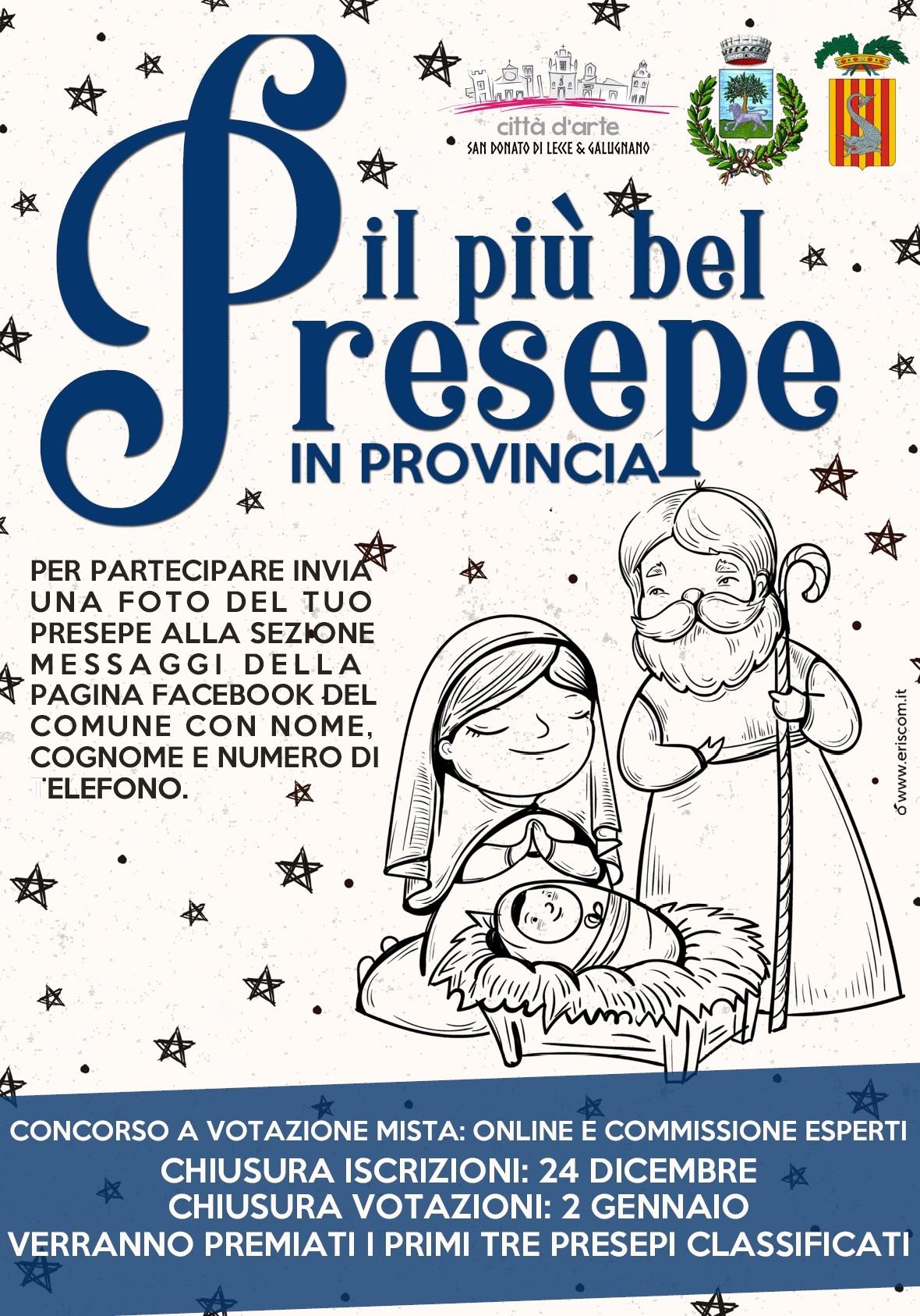 Concorso Presepe Provincia e Comune San Donato