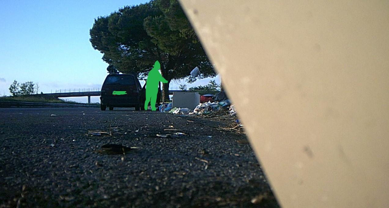 Fototrappole abbandono rifiuti