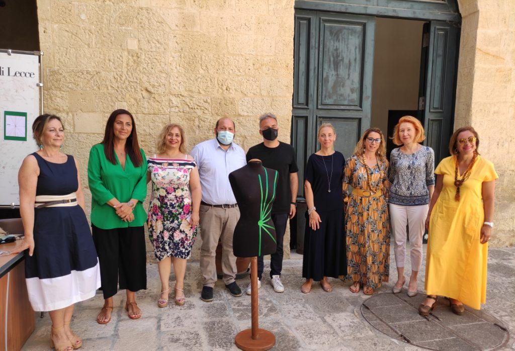 """Moda più sostenibile con """"Suerto"""": presentato a Palazzo Adorno il nuovo metodo che rivoluziona il cartamodello"""