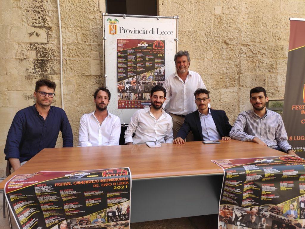 I Festival Cameristico Internazionale del Capo di Leuca: presentato a Palazzo Adorno l'evento itinerante