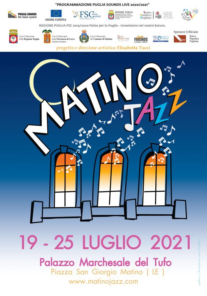 Matino Jazz 2021: prosegue la rassegna con big e giovani talenti. Ecco gli appuntamenti fino al 25 luglio