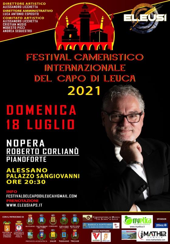 I Festival Cameristico Internazionale del Capo di Leuca: al via il 18 luglio ad Alessano