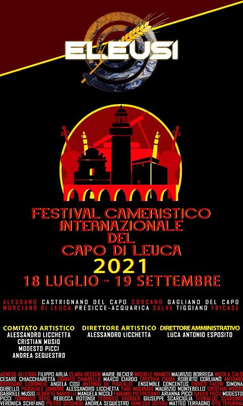 I Festival Cameristico Internazionale del Capo di Leuca: domani la presentazione a Palazzo Adorno