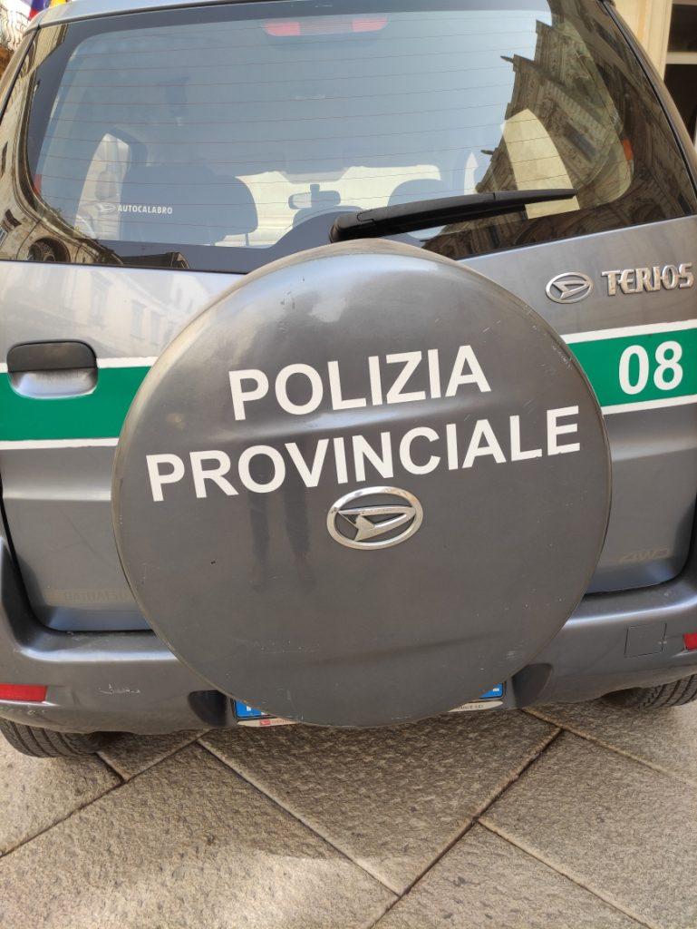 Piano di prevenzione della Polizia provinciale: pronto il calendario dei controlli di ottobre