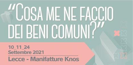 """""""Cosa me ne faccio dei beni comuni?"""": domani alle Knos il report dell'Ost sulla gestione del patrimonio pubblico"""