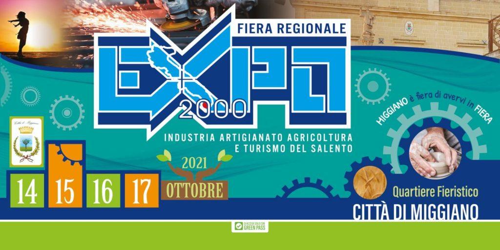 Expo 2000 – Industria Agricoltura Artigianato e Turismo del Salento: domani, a Palazzo Adorno, la presentazione della fiera regionale di Miggiano